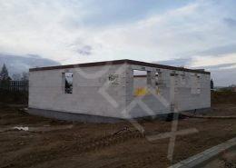 výstavba pilotného rodinného domu