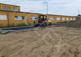 asfaltové práce na ul. Orechová