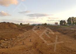 pokračuje výstavba cesty II. etapa