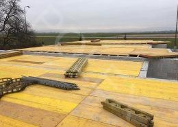 príprava na betonáž radových domov